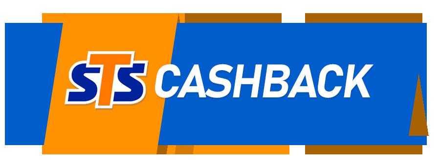 """logo sts i napis """"cashback"""""""